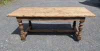 French Rustic Bleached Oak Farmhouse Dining Table (2 of 15)