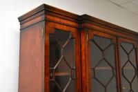 Antique Mahogany Breakfront  Bookcase (6 of 12)