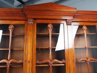 Antique George IV Mahogany Breakfront Library Bookcase (4 of 14)
