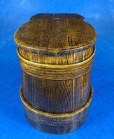 19th Century Beech & Pine Treen Tankard (3 of 11)