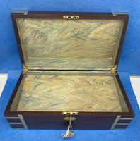 Georgian Solid Mahogany Box (10 of 11)
