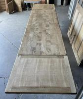Superb Rustic Large Bleached Oak Farmhouse Table with Extensions (26 of 36)