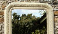 Antique Painted French Mirror (2 of 6)