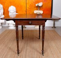 Georgian Pembroke Table Mahogany Extending Writing Modular Table (5 of 12)