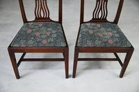 Pair of Antique Chippendale Style Dining Chairs (3 of 12)