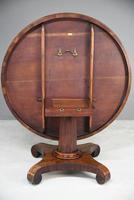 Antique Mahogany Tilt Top Table (13 of 13)