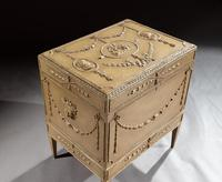19th Century Painted Carton Pierre Chest / Cellaret in the Adam Neoclassical Style (9 of 15)