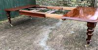 Very Large Victorian Mahogany Extending Dining Table (15 of 16)