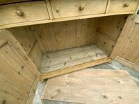 Large Old Pine Dresser Base Sideboard / Cupboard /  TV Stand - We Deliver (8 of 9)