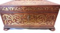 Regency Rosewood Ladies Work Box (4 of 11)