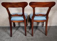 Set of Six Mahogany Dining Chairs In The Victorian Style (7 of 10)