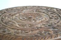 Anglo Indian Table with Circular Carved Top (10 of 10)