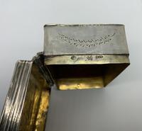 Dutch Silver Table Snuff Box (5 of 8)