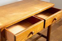 Vintage Mid Century 2 Drawer Oak Desk by Gordon Russell (5 of 14)