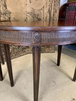 Pair of 19th Century Mahogany Console Tables with Carved Decoration (3 of 8)
