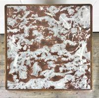 French Walnut & Marble Bedside Cupboard (3 of 15)