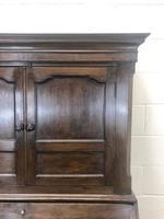 Antique 18th Century Welsh Oak Two Stage Bureau Cupboard (10 of 15)