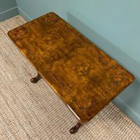 Quality Figured Walnut Victorian Antique Card Table / Games Table (2 of 9)