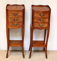 Pair of Tulipwood Bedside Cabinets (2 of 10)