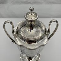 Antique George III Sterling Silver Tea Urn London 1796 Peter & Ann Bateman (10 of 12)