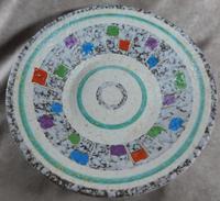 West German, Bay Keramik, Oslo Decor Fruit Bowl (4 of 5)