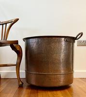 Large Sturdy Solid Copper Bin c.1900 (8 of 11)