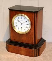 Walnut Timepiece Mantel Clock (7 of 14)