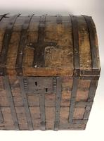 Large Early 17th Century Iron Bound Chest (5 of 22)