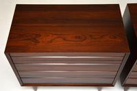 Pair of Danish Vintage Rosewood Chest of Drawers by Poul Cadovius (10 of 13)