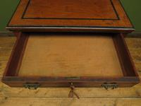 Antique Aesthetic Movement Music Cabinet with fall front & hand painted design (8 of 14)