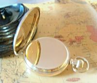 Swiss Vertex Pocket Watch 1926 15 Jewel 10ct Rose Gold Filled Case FWO (9 of 12)