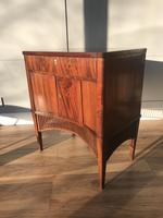 Elegant Early 19th Continental Concave Side Cupboard / Cabinet (4 of 5)