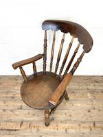 Antique 19th Century Penny Armchair (2 of 9)