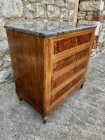 French 19th Century Marble Top Chest of Drawers (4 of 5)