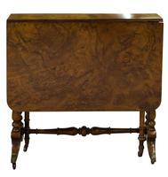 Victorian Walnut Sutherland Table c.1870 (2 of 7)
