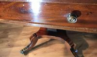 Regency Mahogany Sofa Table (6 of 9)