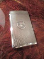 Victorian Silver Engine Turned Card Case (3 of 6)