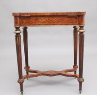 19th Century Inlaid Mahogany Dressing Table (9 of 13)