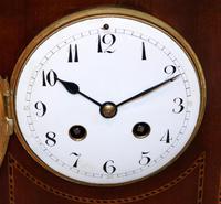 Mahogany Pagoda Style Mantel Clock (4 of 12)