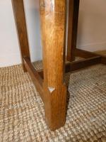 Yorkshire ( Lizardman) Oak Table & 4 Chairs (10 of 13)