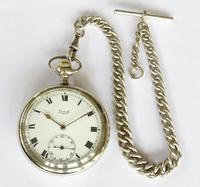 Antique Limit Pocket Watch & Chain (4 of 4)