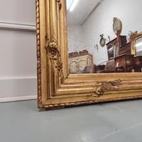 Antique French Gilded Flower Mirror (3 of 8)