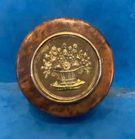 19th Century French Thuya Burl Burr Snuff Box