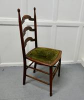 19th Century Chair with Original Carpet Seat by John Hodder (7 of 7)