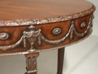 Well Carved Late 19th Century Mahogany Centre Standing Table (5 of 7)