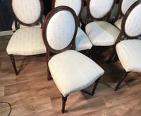 Set of Ten Mahogany Dining Chairs (9 of 10)