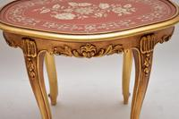 Pair of Antique French Style Giltwood Side Tables (8 of 10)