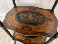 French Rosewood & Marquetry Etagere (4 of 7)