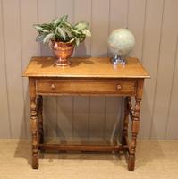 Light Oak Hall Table (6 of 11)
