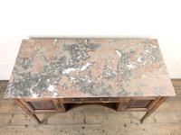 Edwardian Mahogany Sideboard with Marble Top (7 of 9)